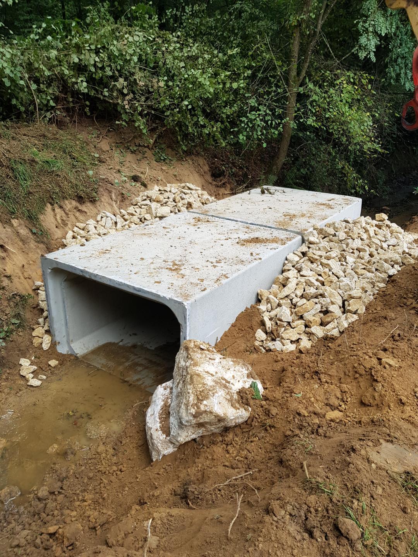 Resized 20190925 152801 9964 - Réalisation d'un Aqueduc pour l'évacuation des Eaux Pluviales