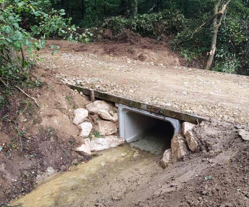 Réalisation d'un Aqueduc pour l'évacuation des Eaux Pluviales